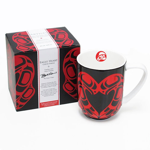 Roy Henry Vickers - Eagle Heart Porcelain Mug