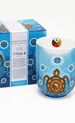 James Jacko - Medicine Turtle Porcelain Mug