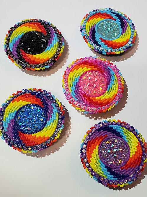 Beaded Popsockets - Swirl Design
