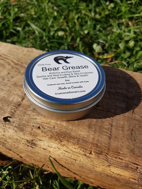 100% Pure Bear Grease