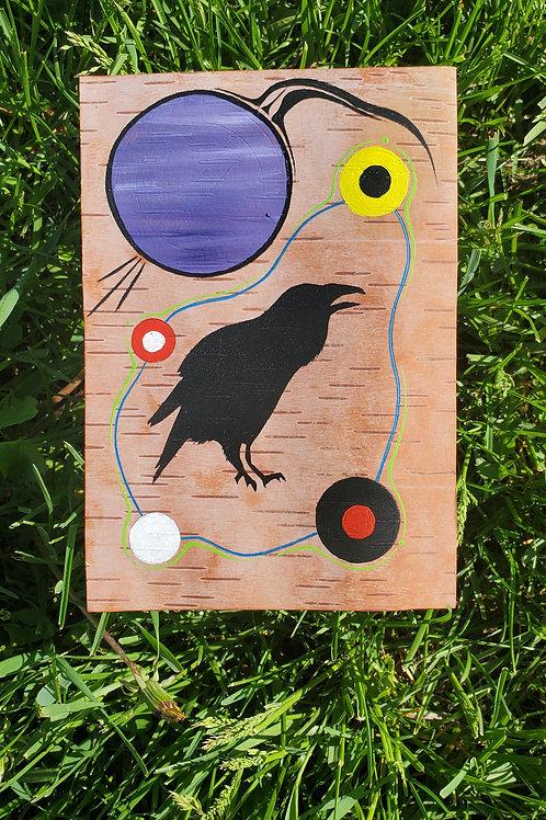 """Raven"" Nigel Fisher Original"