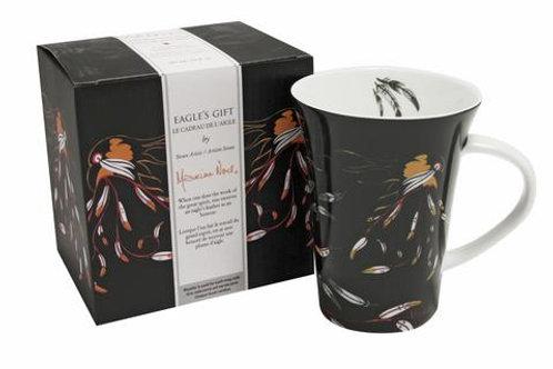 Maxine Noel 'Eagle's Gift' Porcelain Mug