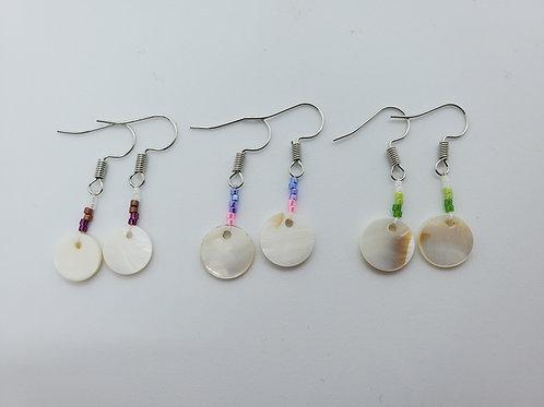 Beaded Earrings by Lisa