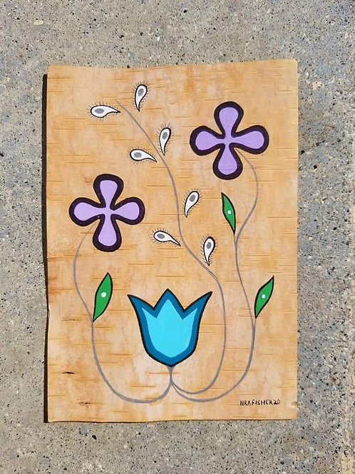 Purple Floral - Original