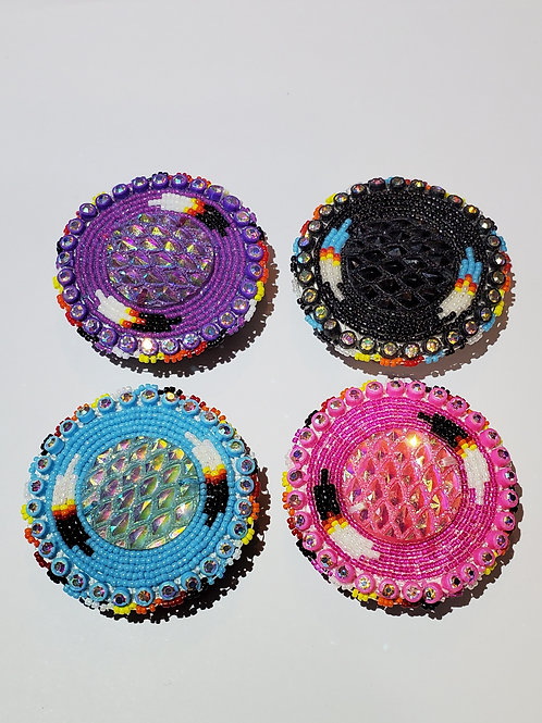 Beaded Popsockets - Feather Design