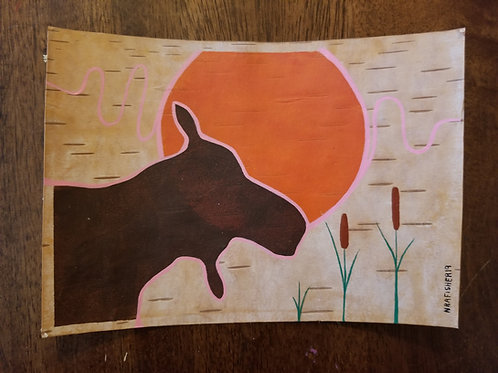 Moose - Nigel Fisher Original
