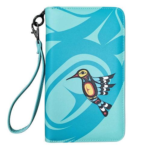 Francis Dick Hummingbird Travel Wallet