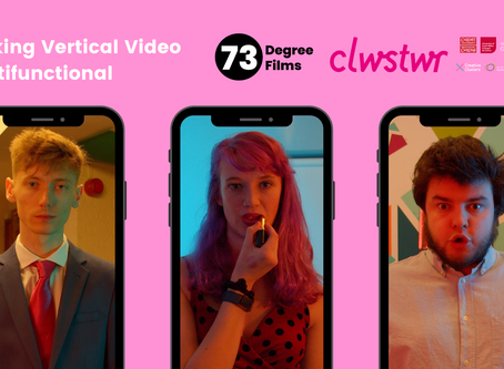 Making Vertical Video Multifunctional with Clwstwr