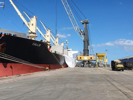 Pela primeira vez, TPPF opera na importação de malte para cervejaria brasileira