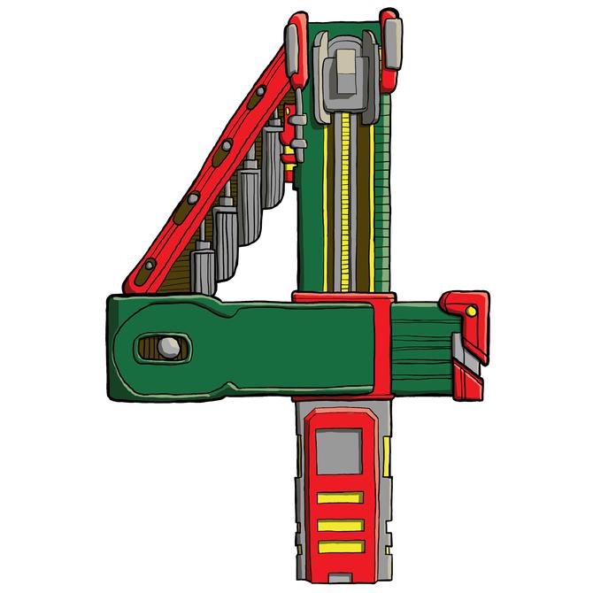 Mechanical Text - 4