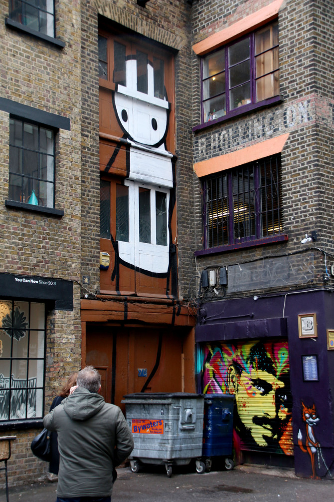 Street Scene: A Tour of London's Street Art 1 – Shoreditch, Brick Lane and more