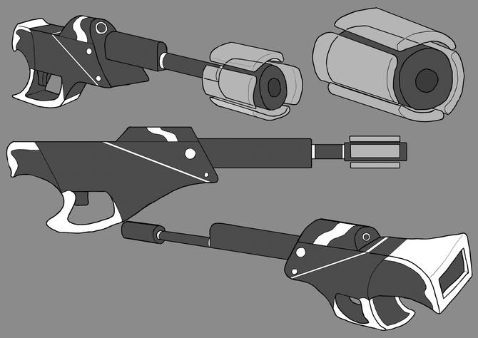 Primal:Khaos Sniper Rifle design