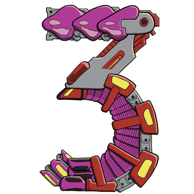 Mechanical Text - 3