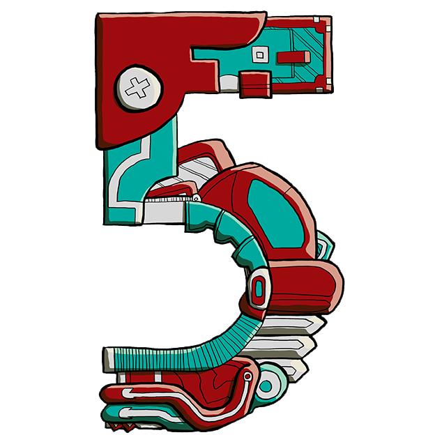Mechanical Text - 5