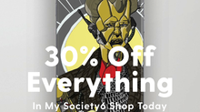 Sale on in my Society 6 store!