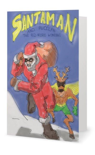 Santaman card