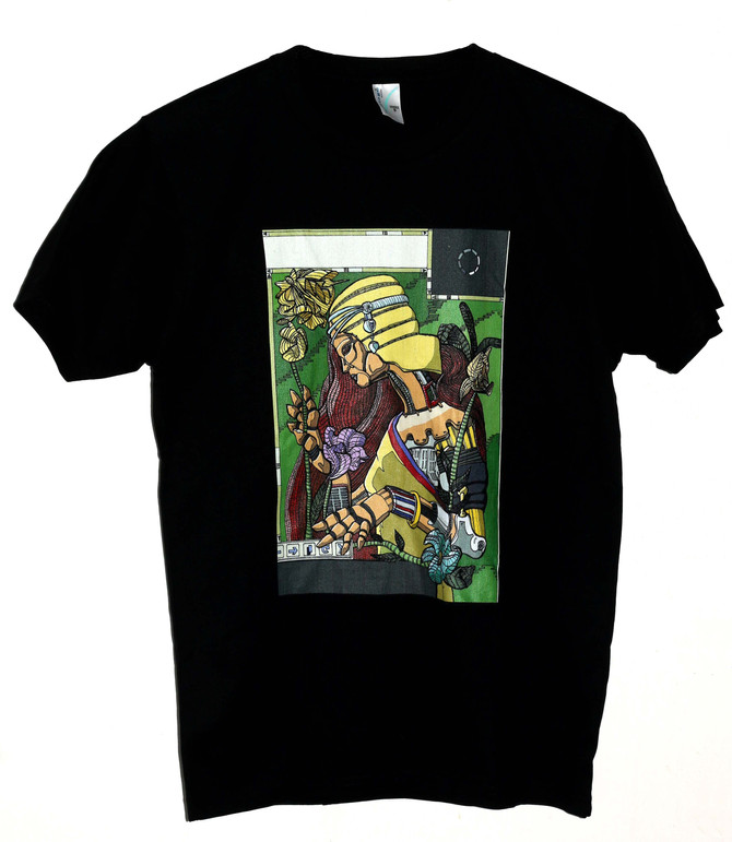 Steampunk and Street art Superhero T-Shirts available now!