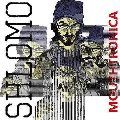 Shlomo album cover illustration beatbox