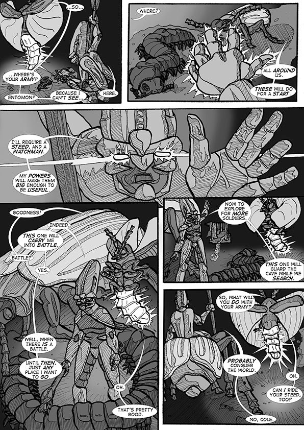comic boo page