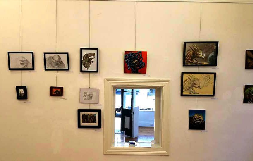 Nathan Seabolt FaI exhibition