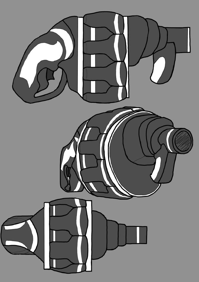 Primal : Khaos Grenade Launcher