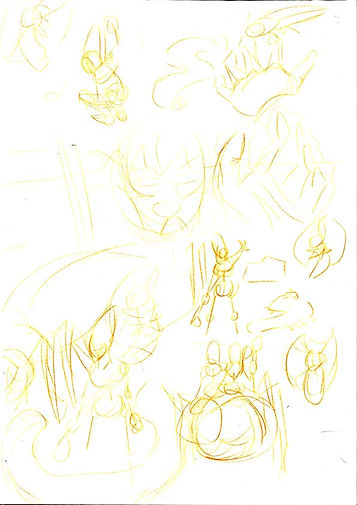 comic page layout art