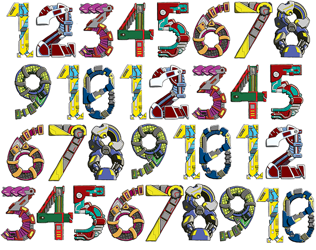 Geeky number patterns