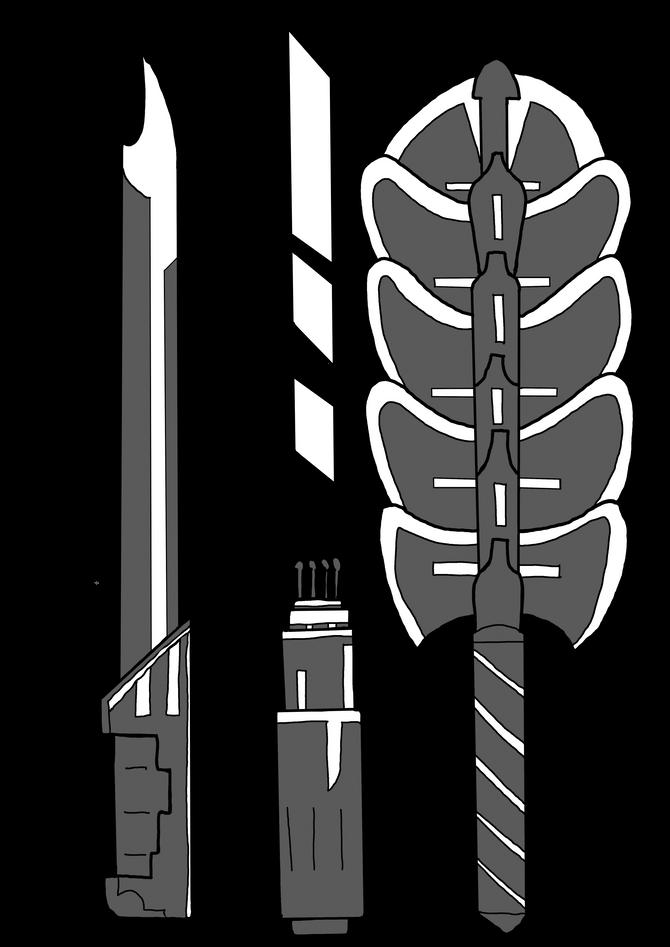 Primal:Khaos Melee Weapons