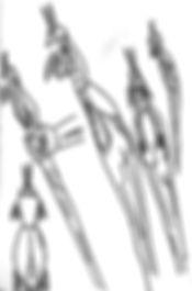 sketch of staff