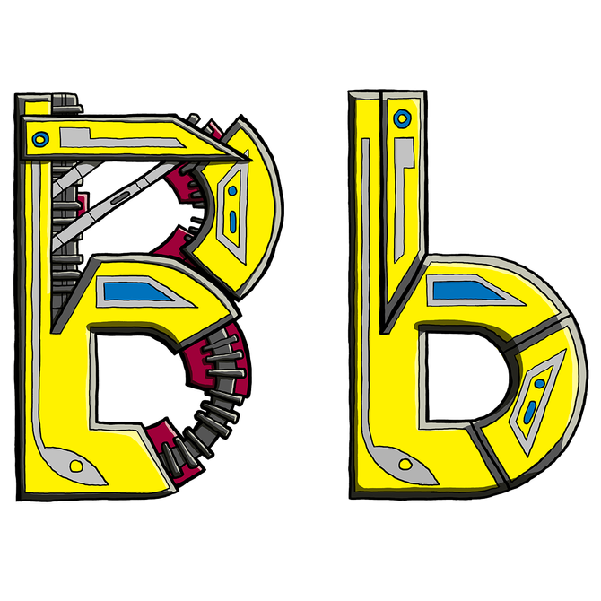 Mechanical Text - B