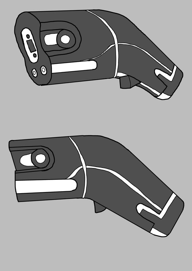 Impirium Pistol design