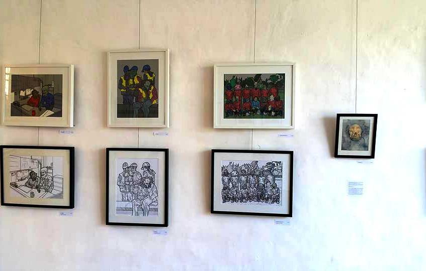 James Mathurin FaI exhibition