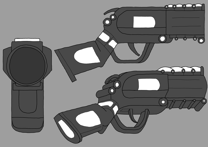 Impirium - Boarock Grenade Launcher