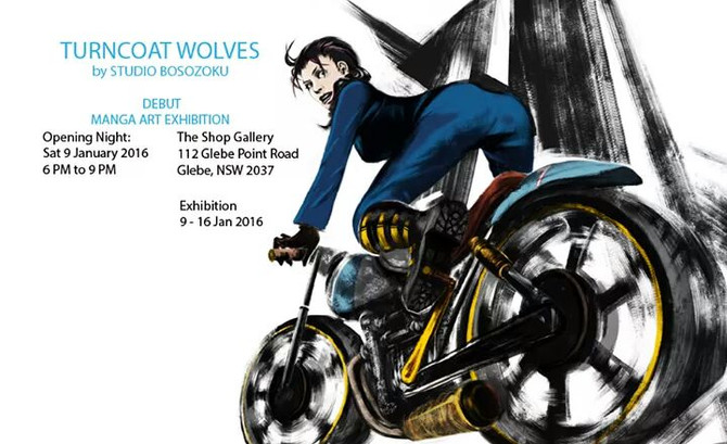 New Exhibition - Turncoat Wolves - Sci-Fi Atompunk & Animalia