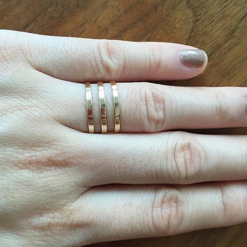 3 Bar Ring