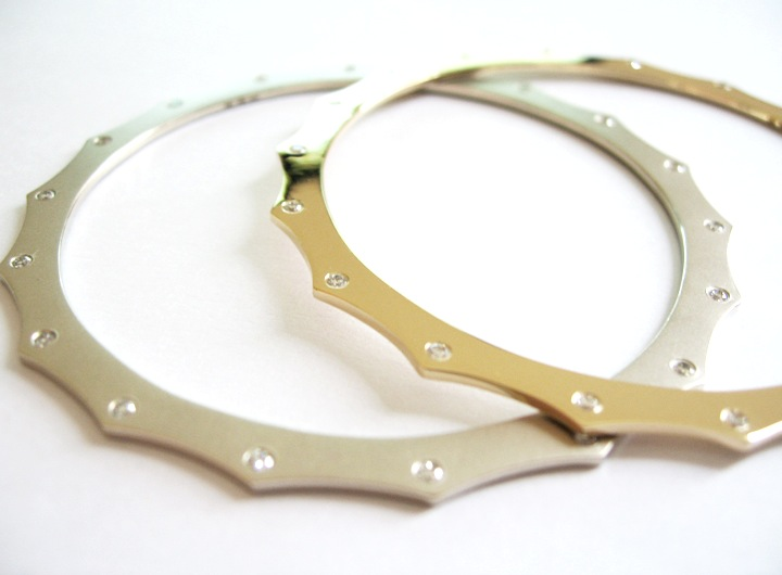 Harper Escapement Bangles