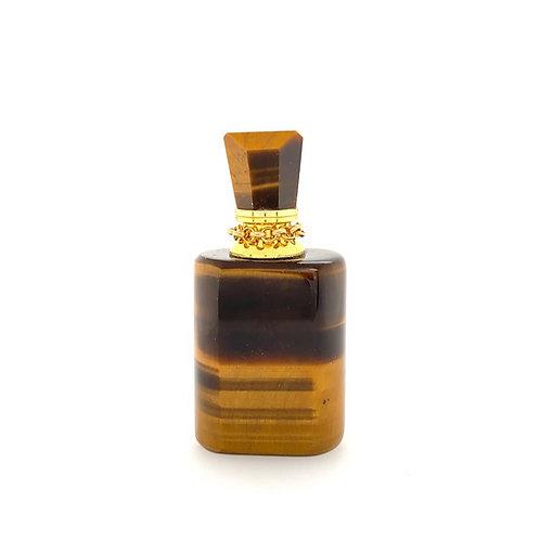TIGER'S EYE bottle pendant