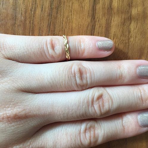 Braided Midi Ring (=$92.00USD)
