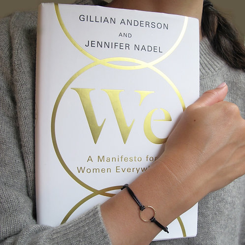"""We"" Circle : Gillian Anderson + Jennifer Nadel ($103 - $328USD)"