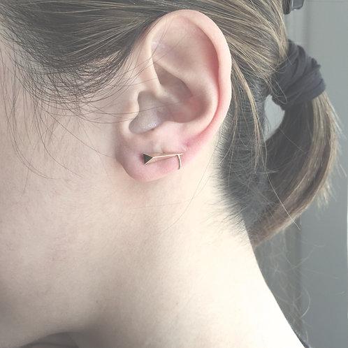 Pointed Polygon Ear Cuff