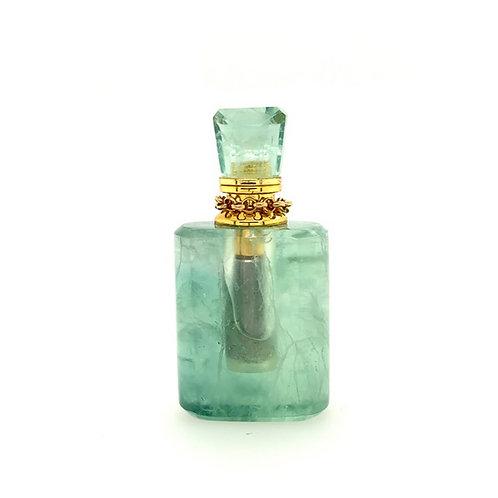 GREEN FLUORITE bottle pendant