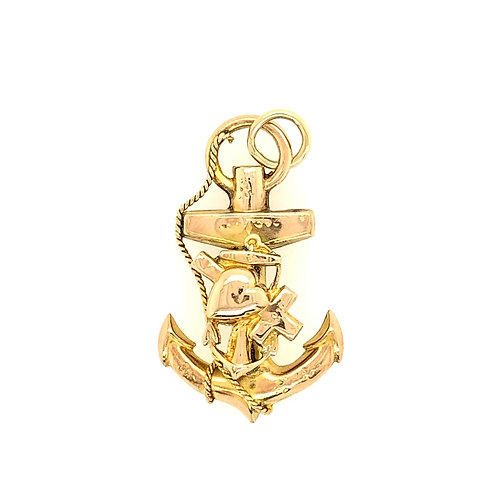 "Victorian ""Faith, Hope & Love"" Anchor"