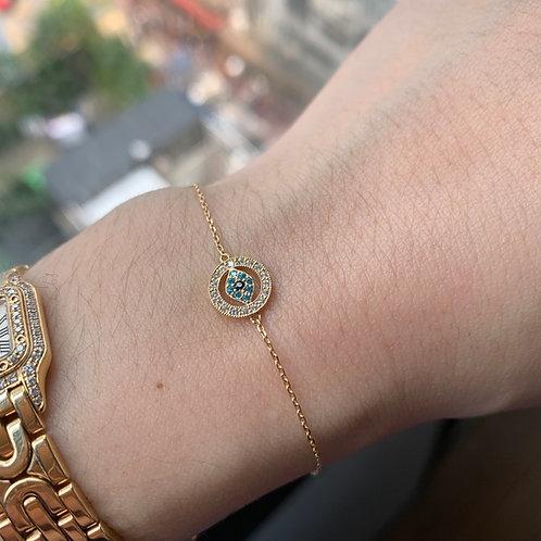 Evil Eye Bracelet ($163USD)