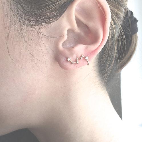 Star Constellation Ear Cuff