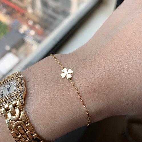 Lucky Clover Bracelet ($141USD)