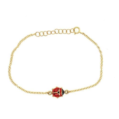 Vintage Ladybug Bracelet