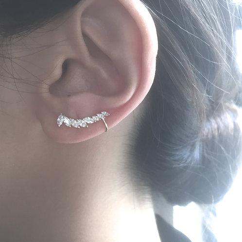 Marquise Graduated Ear Cuff ($123.00USD)