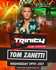Tom Zanetti Trinity Event Kavos July 29th 2020