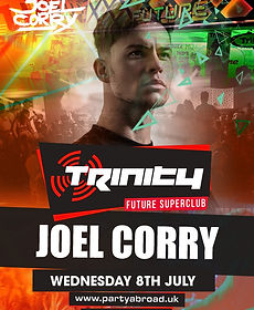 Joel Corry Trinity Event Kavos July 8th 2020