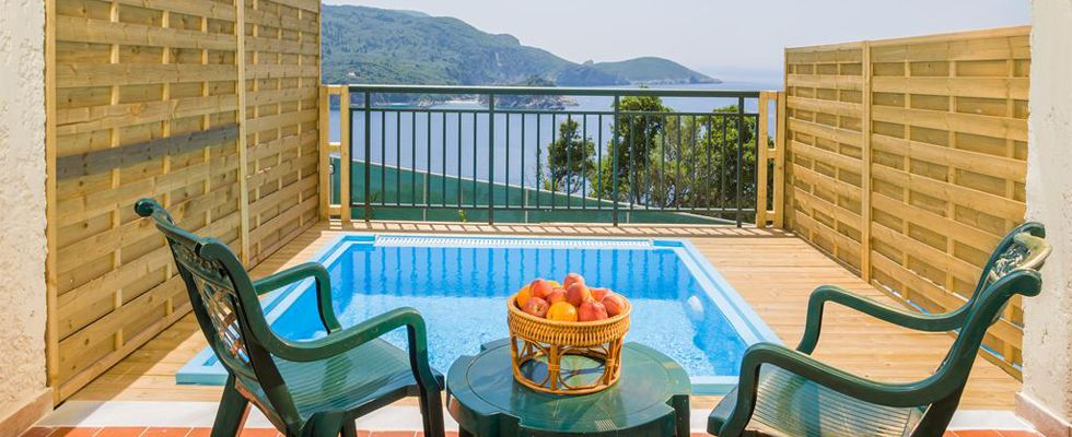 Best Places To Stay In Paleokastritsa - Paleo ArtNouveau - Top Hotels In Corfu Greece